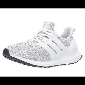 ULTRA BOOST WHITE/GRAY BRAND NEW WITH BOX AND TAGS